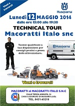 Technical Tour Husqvarna 2014